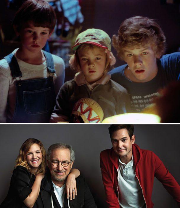 Elenco de la película E.T el extraterrestre reunidos antes y después