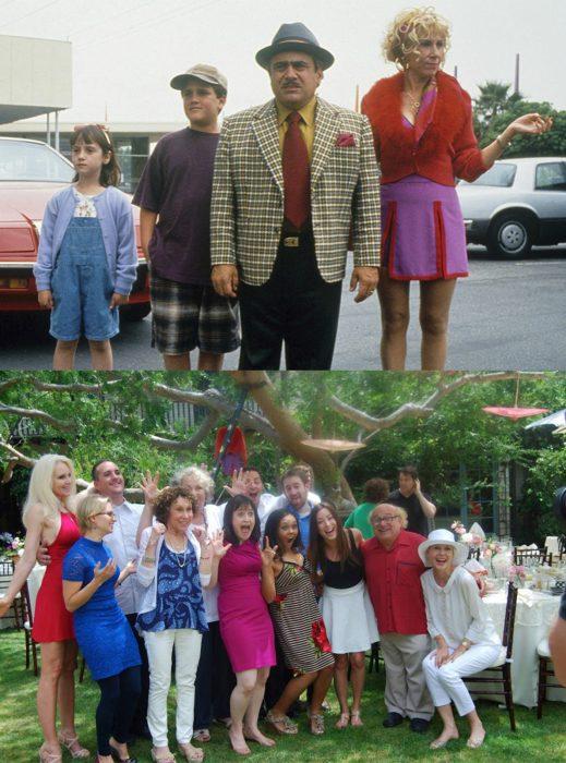 Elenco de la película Matilda reunidos antes y después