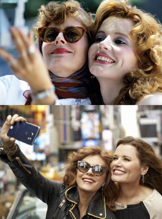 Elenco de la película thelma y louis reunidos antes y después