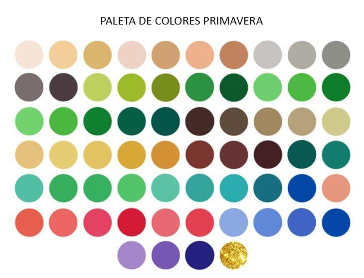 Colores de ropa que van con la tonalidad de piel primavera