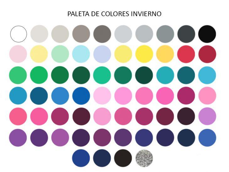 Colores de ropa que van con la tonalidad de piel invierno