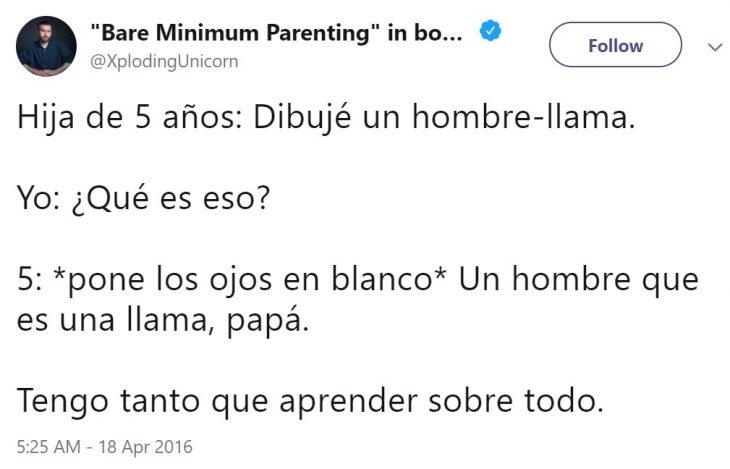 Padre comparte divertidas anécdotas de sus hijas en Twitter