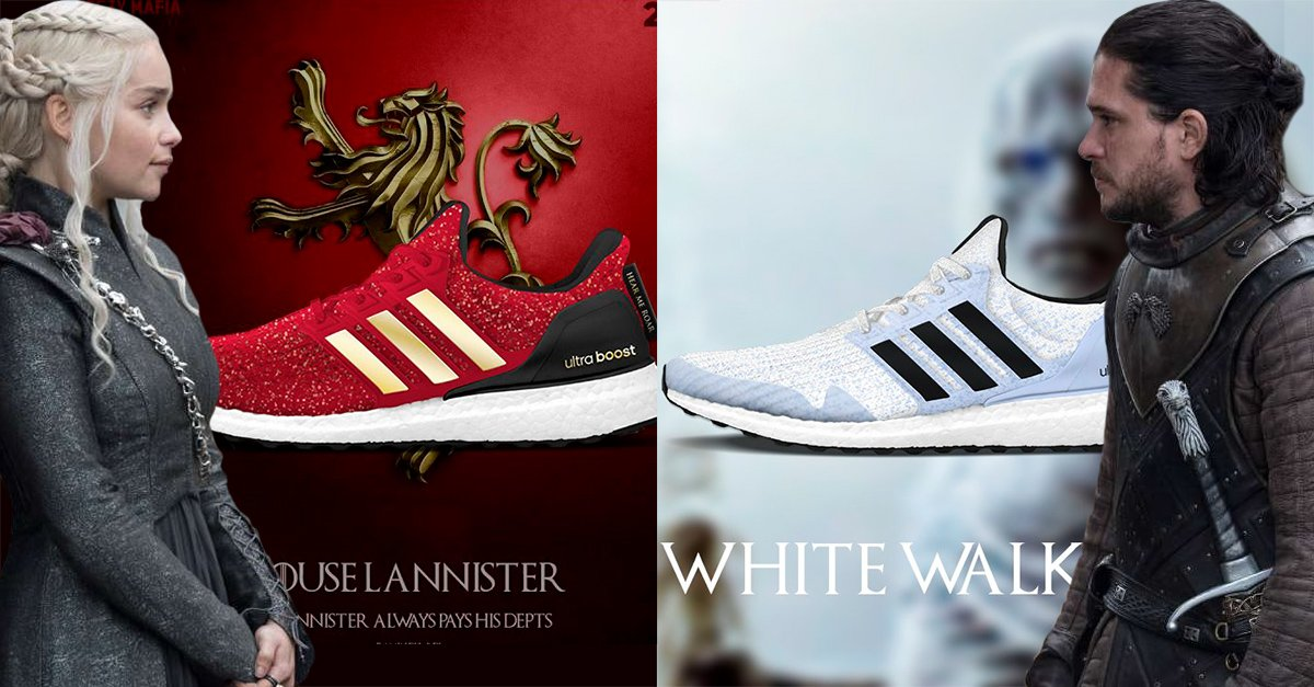 Adidas crea una línea inspirada en Game of Thrones