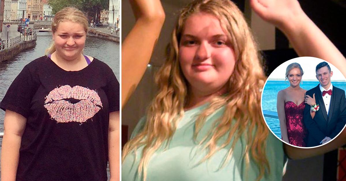 Perdió 127 kilos solo para usar su vestido de graduación; ¡su transformación es increíble!
