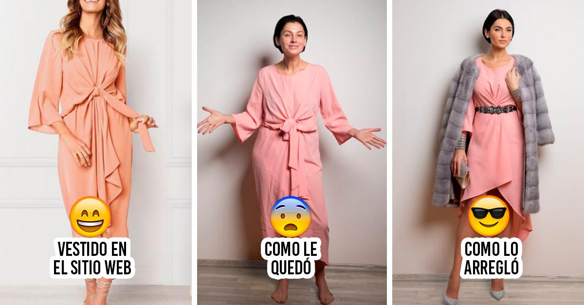Esta mujer cambió a su propio estilo la ropa que compro en línea