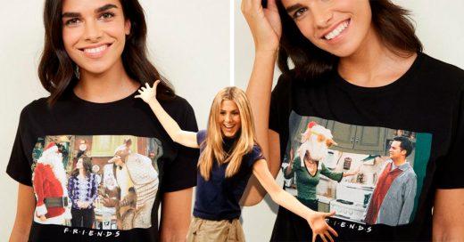 Tienda en línea crea las mejores playeras navideñas; ¡tienen escenas de navidad de Friends!