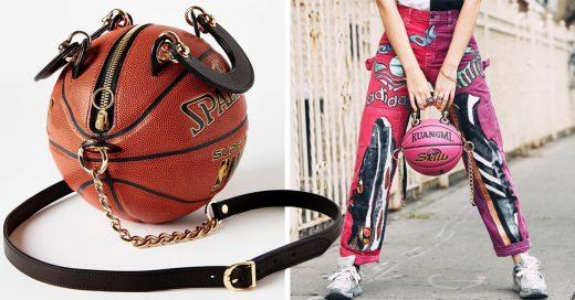 Artista transforma pelotas deportivas en encantadoras bolsas