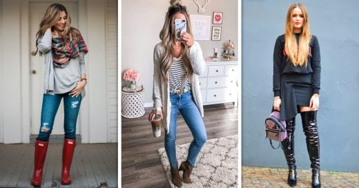 Outfits con botas para verte increíble este invierno