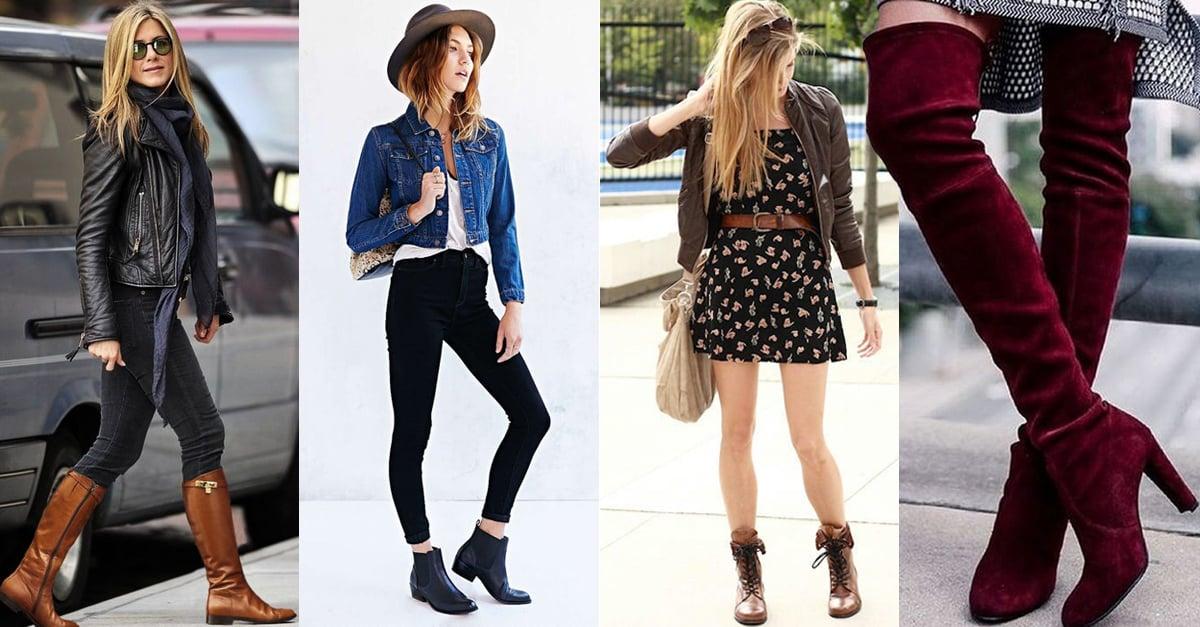 Encuentra las botas que mejor van con tu silueta y realza tu figura