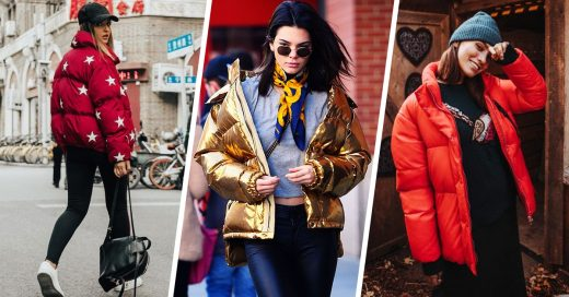 14 Chamarras de plumas que demuestran que laspuffer jacketsestán de vuelta en 2018