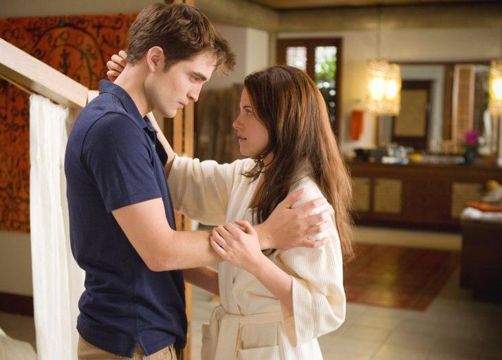 Edward y bella en amanecer parte 1