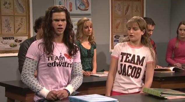 team Edward o team Jacob
