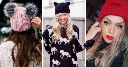 11 Gorros para agregar a tu clóset este otoño-invierno 2018