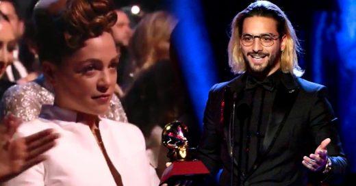 Maluma ganó Grammy latino por mejor álbum pop. Y el disgusto de Natalia Lafourcade no tiene precio