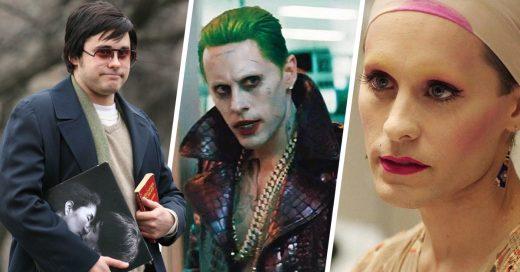 Las mejores transformaciones de Jared Leto en la pantalla grande