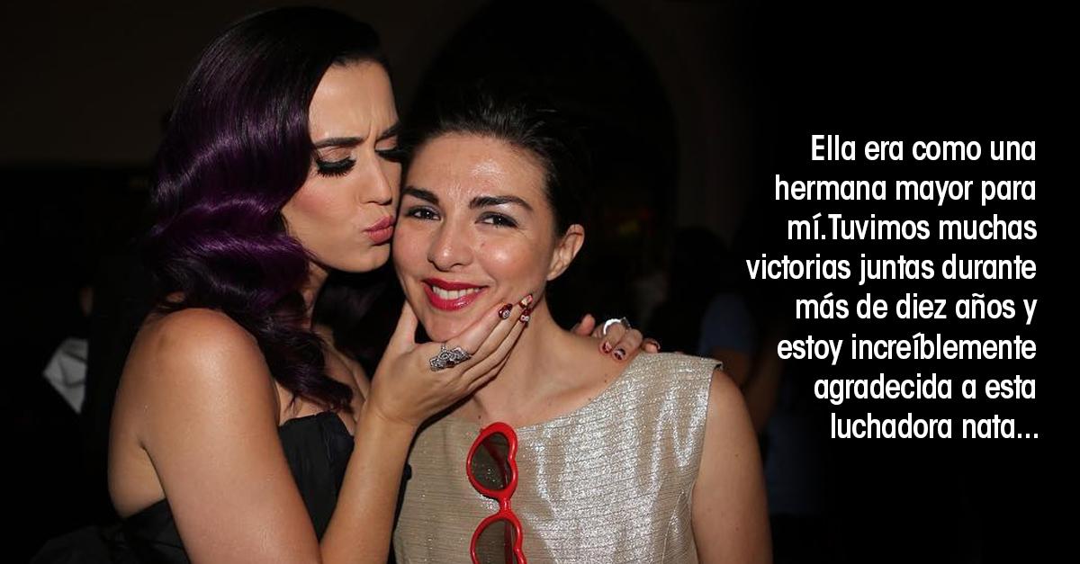 Katy Perry despide a mejor amiga con un dulce y desgarrador mensaje en Instagram