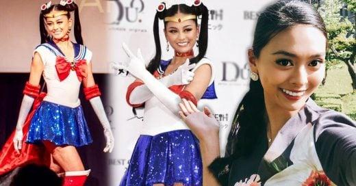 Miss Japón presenta su próximo traje típico para Miss Universo: ¡el uniforme de Sailor Moon!