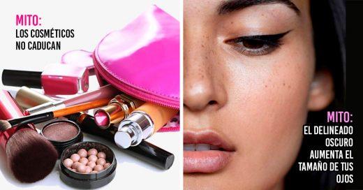 10 Cosas sobre el maquillaje que resultaron ser mitos