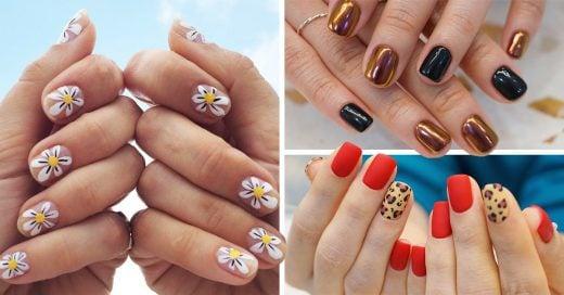 14 Lindas y originales ideas para decorar tus uñas en 2019
