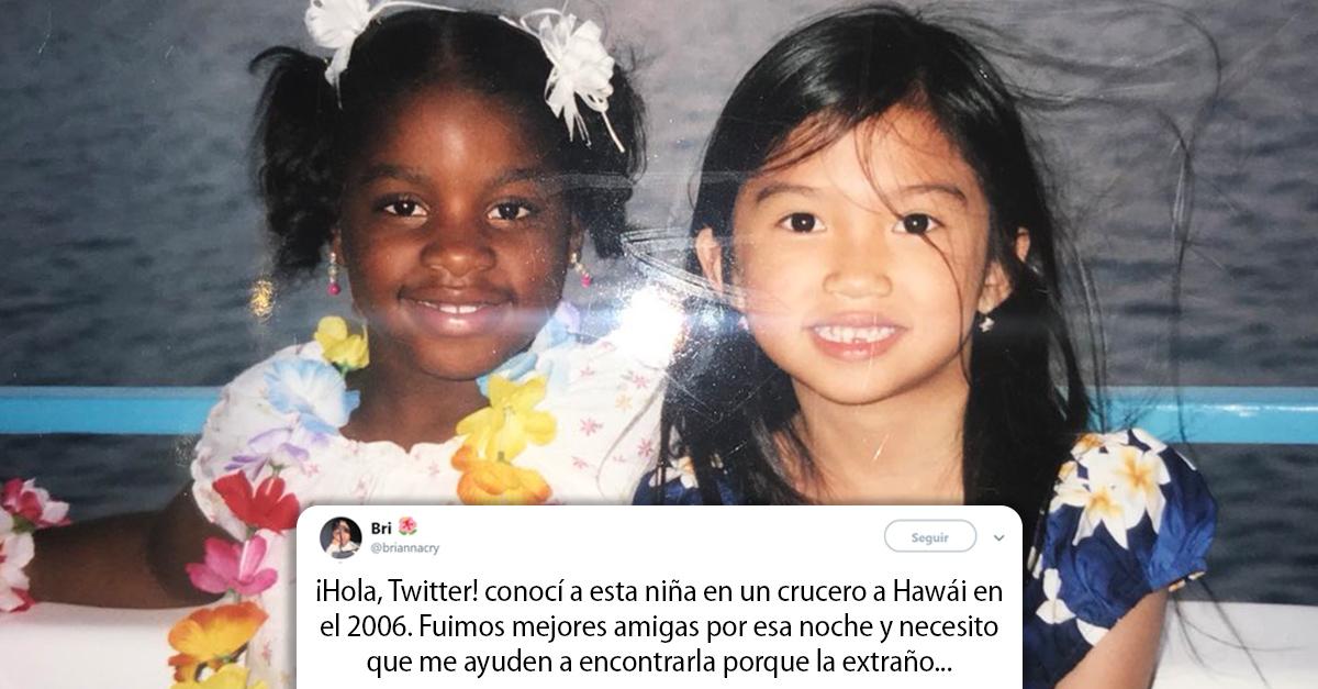 12 años después dos chicas se reencuentran gracias a Twitter
