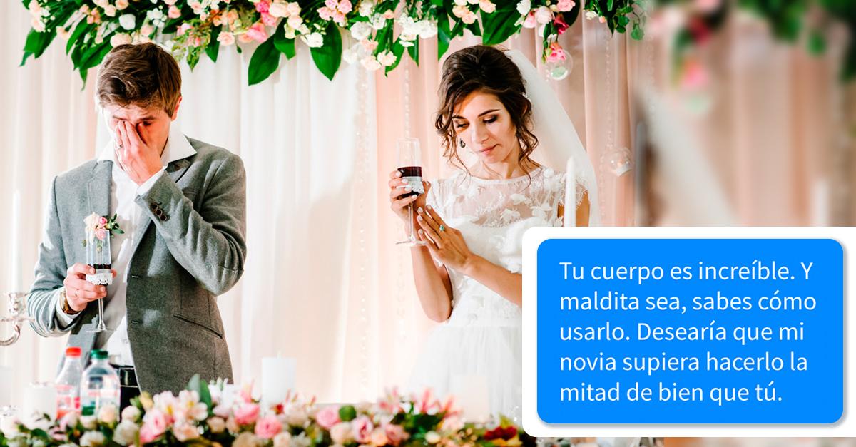 Esta mujer canceló su boda por los mensajes de infidelidad de su novio que recibió