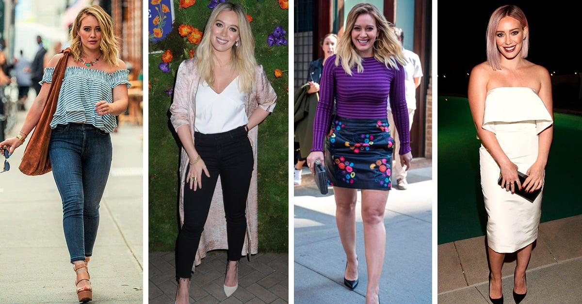 15 outfits de Hilary Duff que puedes copiar si tienes un estilo relajado