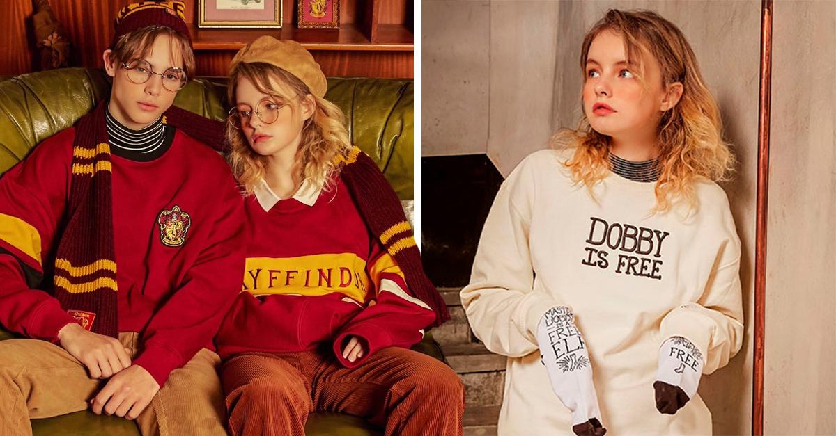 Esta colección de ropa inspirada en 'Harry Potter' es todo lo que necesitas para una invierno mágico