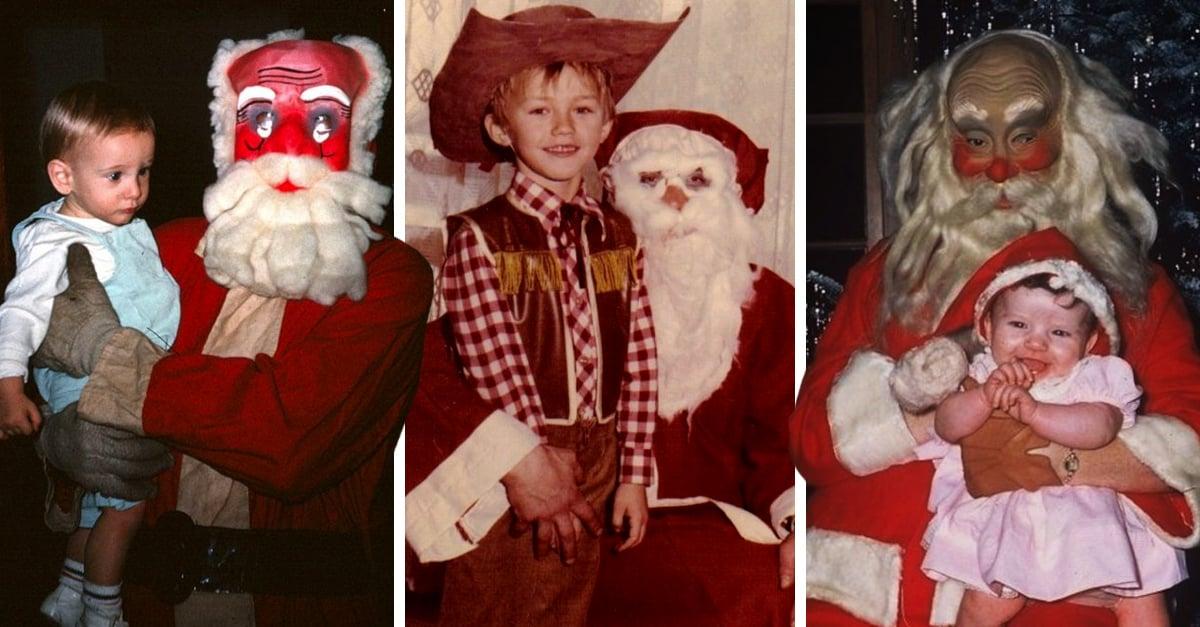 24 Santa Claus que no querrás que tus hijos conozcan esta Navidad