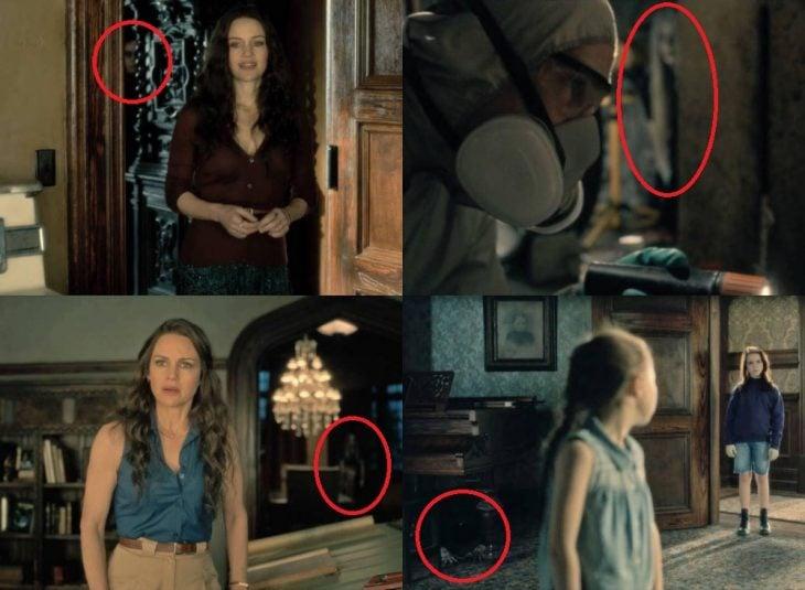 escenas de la serie Hill House