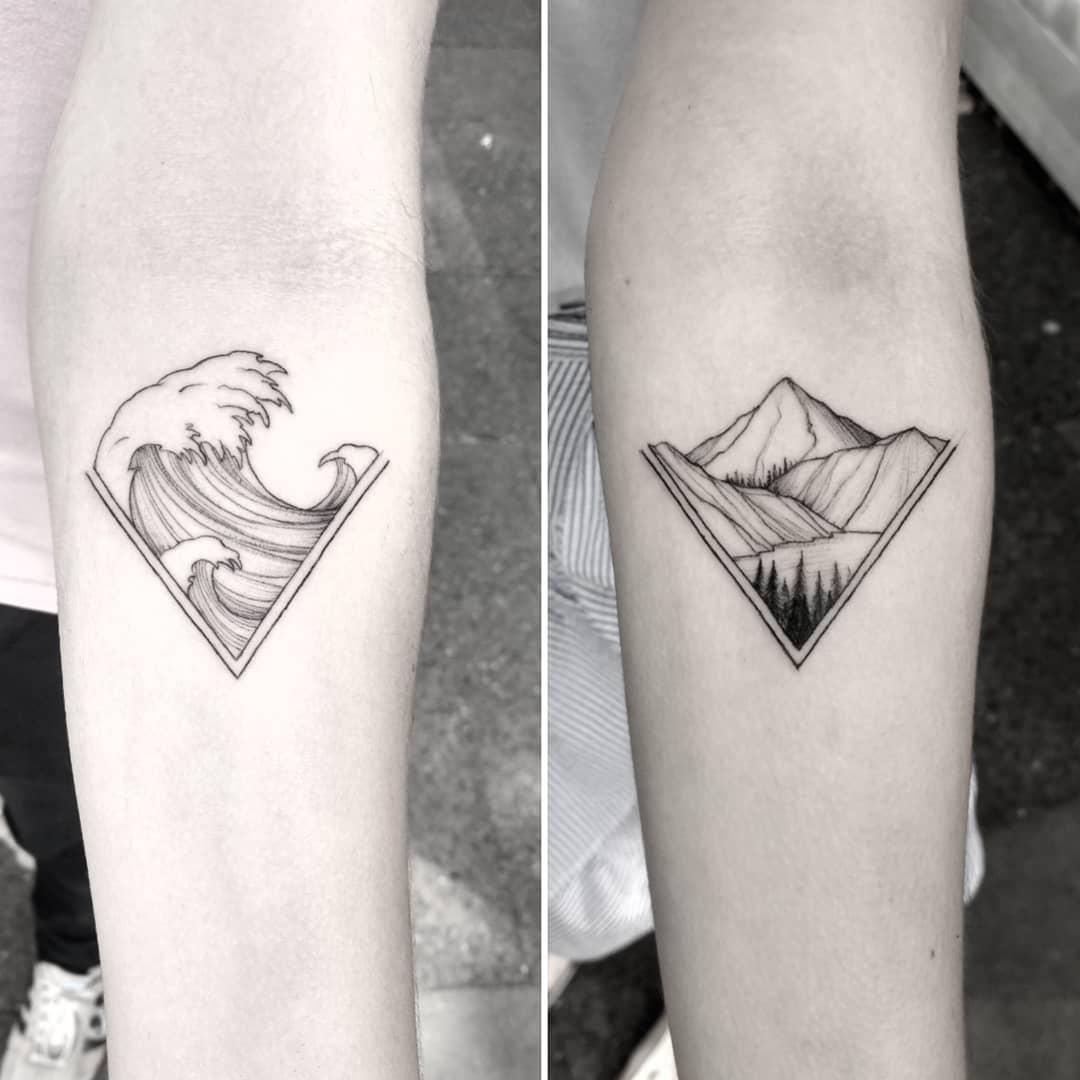 13 Lindos tatuajes para hacerse entre hermanos y hermanas