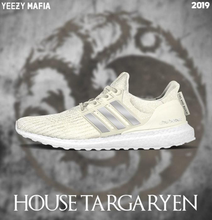 Tenis adidas inspirados en game of thrones