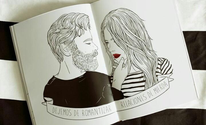 ilustracion dejemos de romantizar relaciones de