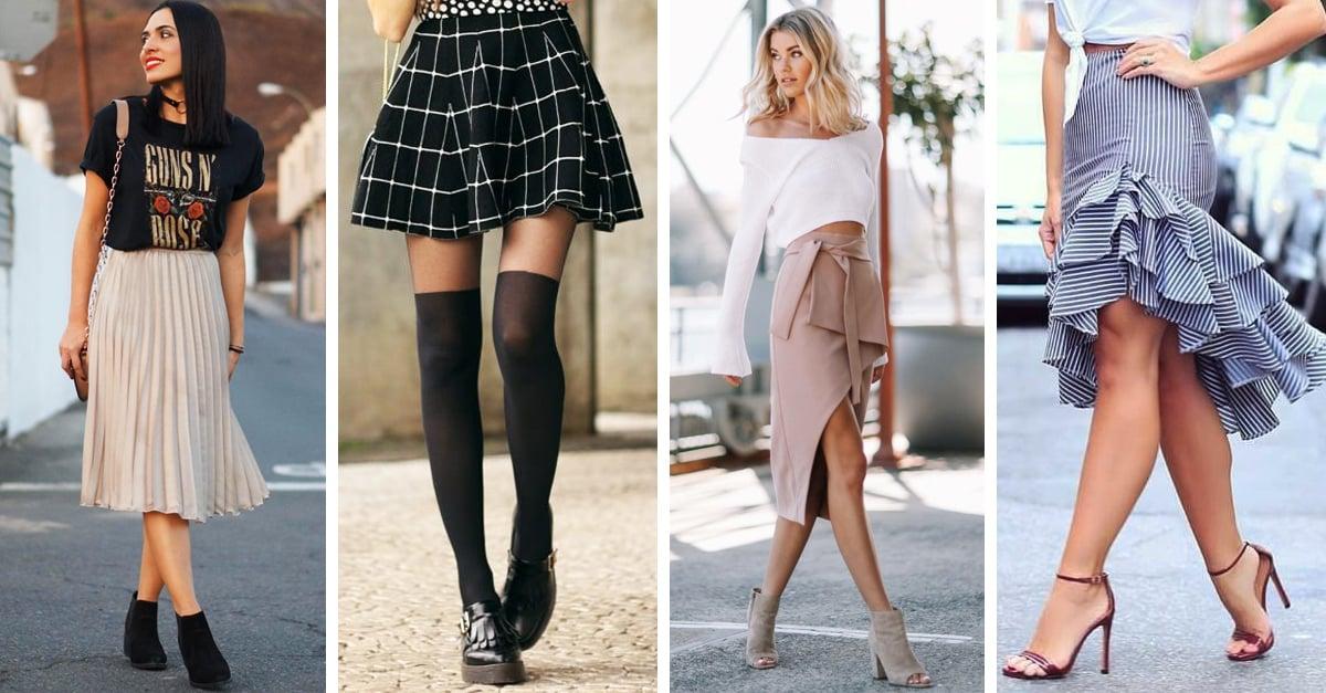 533fdaef527 10 Combinaciones de faldas y zapatos que se ven geniales y querrás intentar