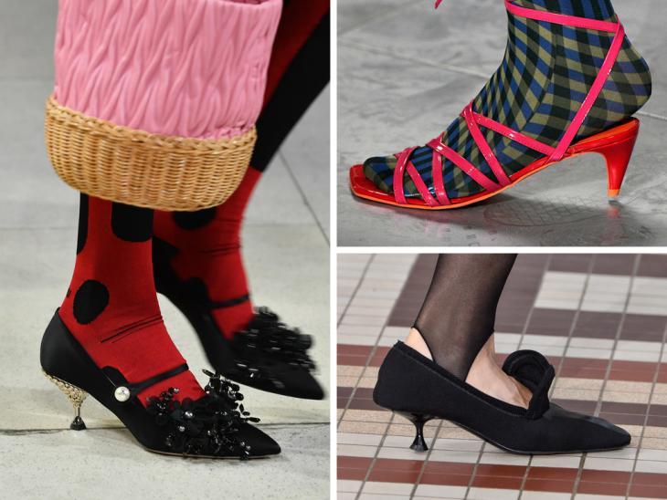 zapatos de mujer con tacón muy bajo
