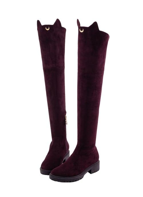 botas de piso a la rodilla