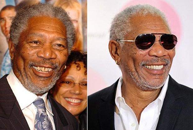 Morgan Freman antes y después
