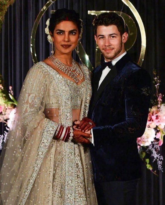 Priyanka chopra y nick jonas el día de su boda