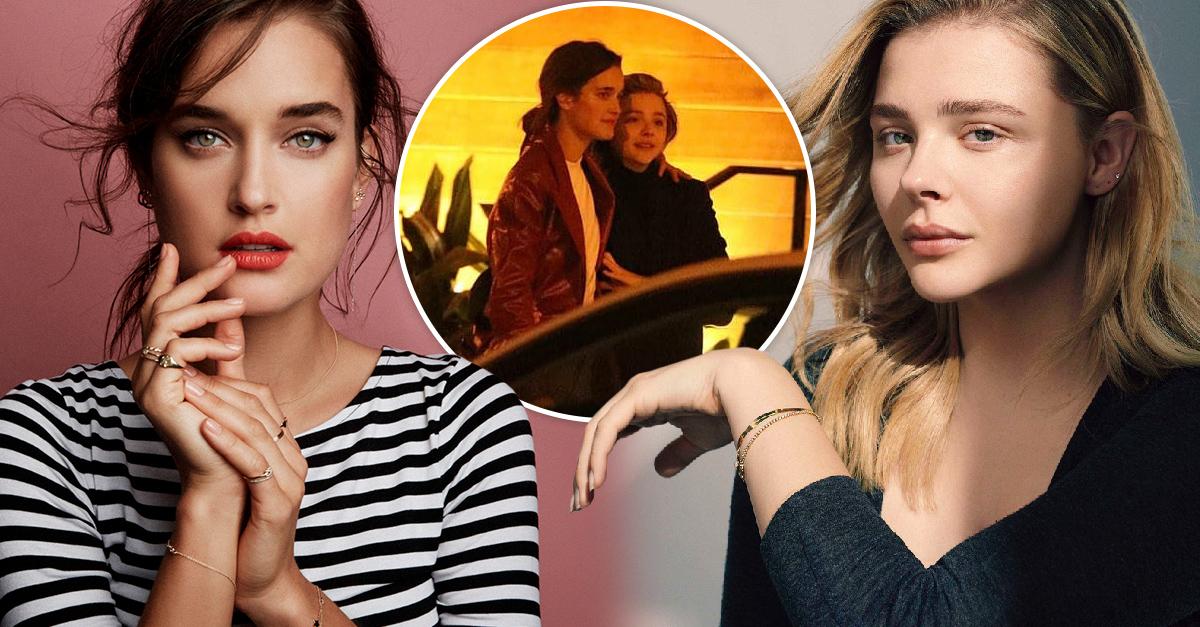 Chloe Moretz ya tiene un nuevo amor y es la modeloKate Harrison