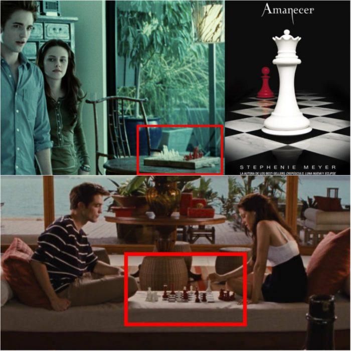 pareja jugando ajedrez