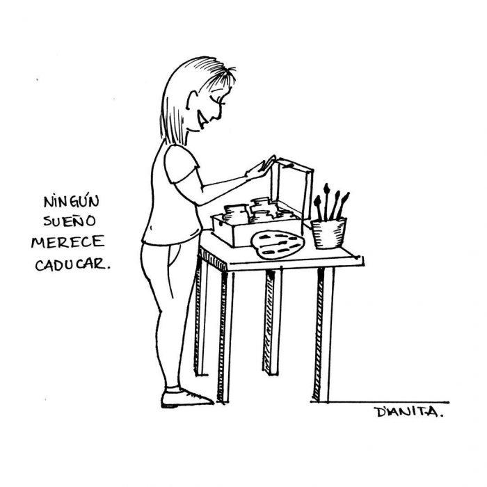 Ilustraciones de artistas para recargar pilas y reencontrarse