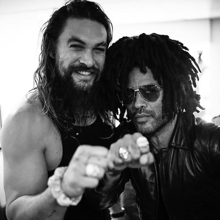 Lola Iolani Momoa Wiki From Age Parents To Pictures Of: Jason Momoa Le Regaló Un Anillo De Amistad A Lenny Kravitz