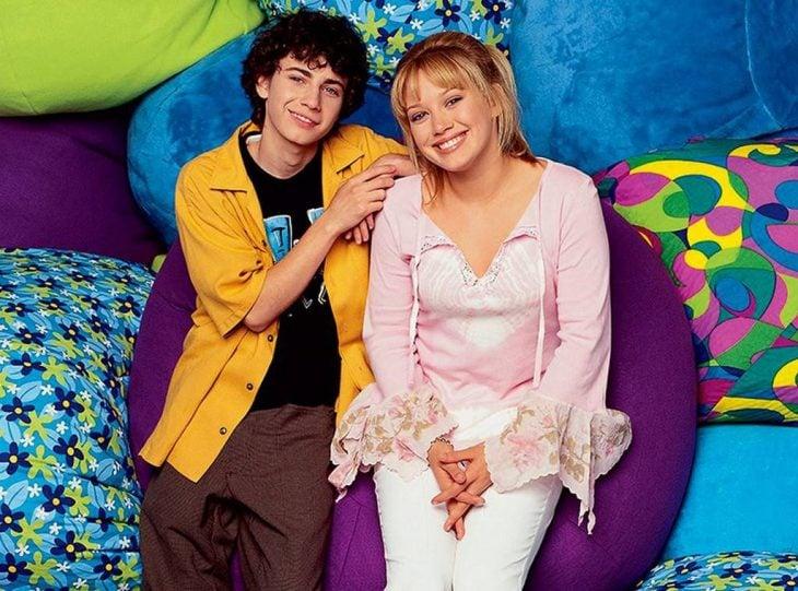Gordo y Lizzie de la serie Lizzie Mcguire