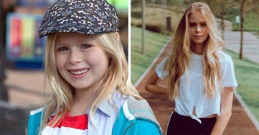 Así es como ha crecido la adorable Lorero Peralta