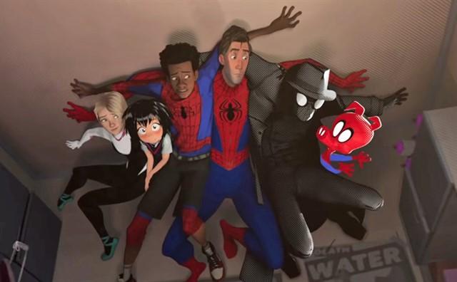 poster de Spider-Man multiuniverso