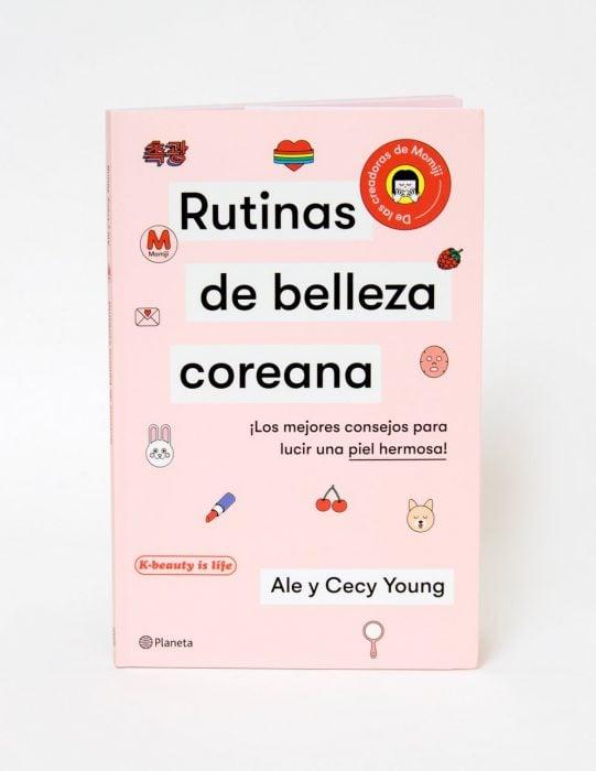 libro de rutinas de belleza coreana