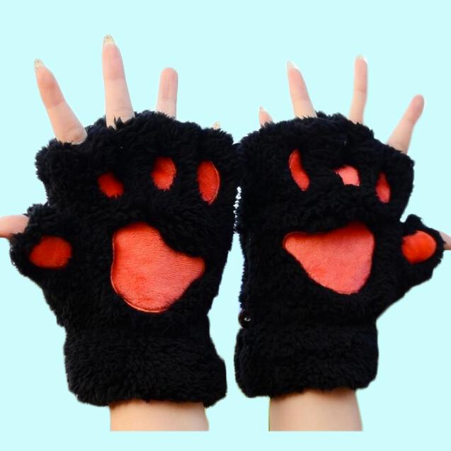 guantes de garras de gato
