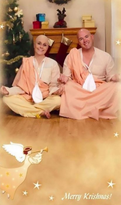 Familia envía tarjetas vergonzosas de Navidad cada año