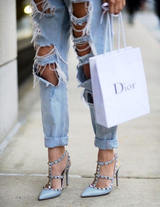 Zapatos valentino con estoperoles