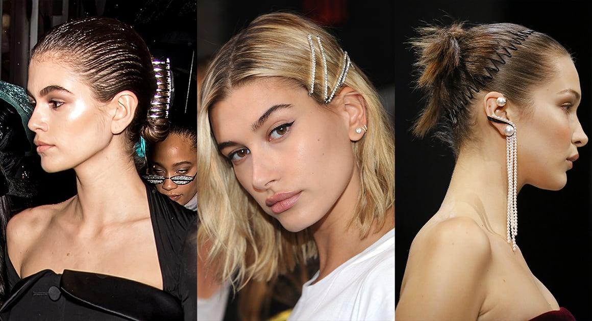 Peinados recogidos de los 90