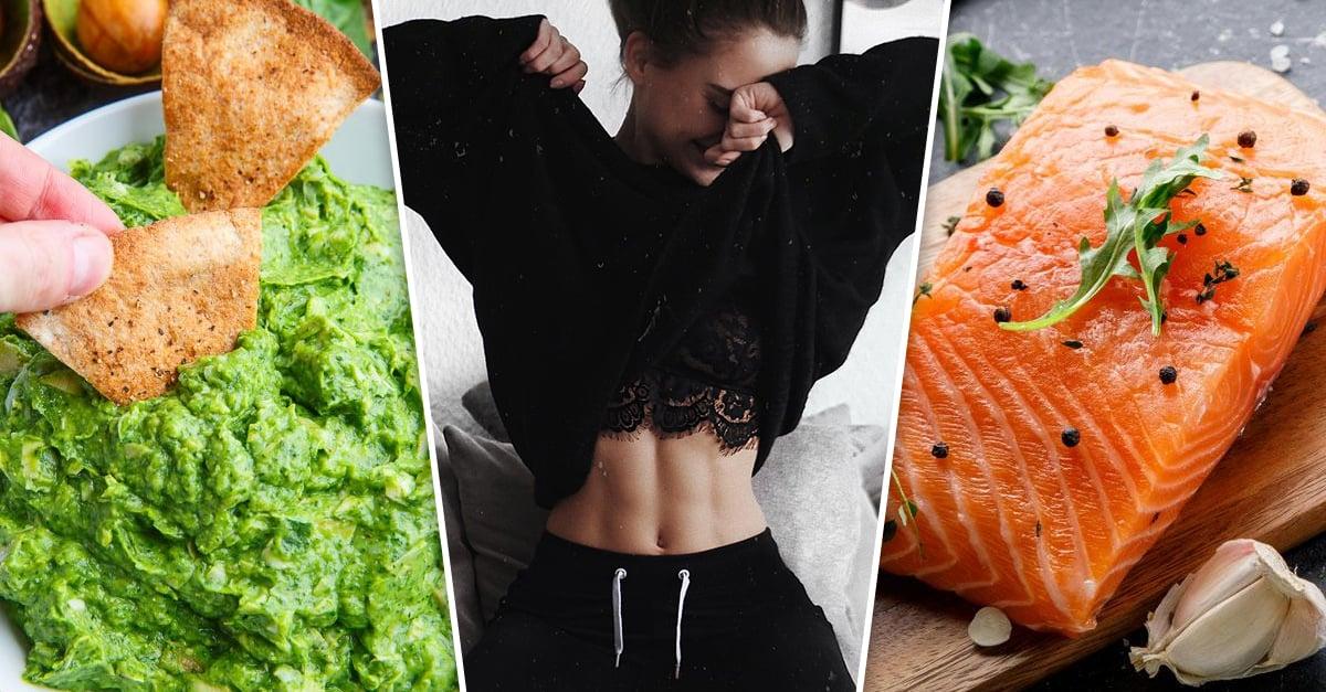 10 Deliciosos alimentos para tener un abdomen plano